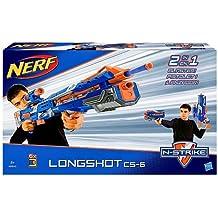 Hasbro B5540 NERF N-Strike Elite Longshot CS-6