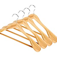 Log rack/ tinta legno antiscivolo hanger/ vestiti senza giunte prop/ stendini per uso domestico-A