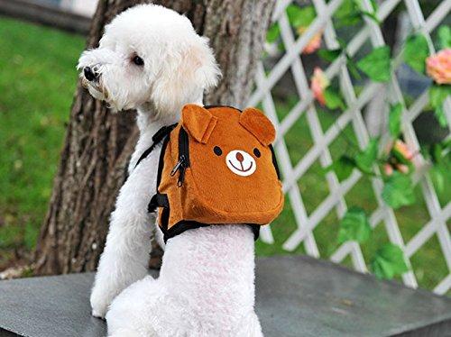 Mochila osito para tu mascota llevara su agua, sus chuches sus toallitas y bolsas... y tambien tus cosas novedad en tiendas de mascotas peluqueria canina veterinario de OPEN BUY