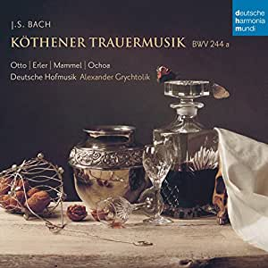 Bach: Kothener Trauermusik BWV 244A [Import allemand]