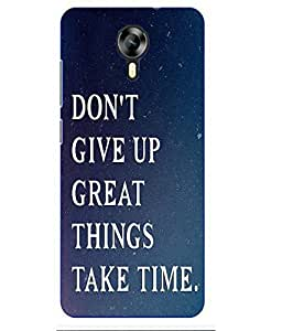 Case Cover Slogan Printed Multicolor Hard Back Cover For MEIZU M2