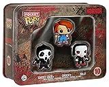 Funko 599386031 - Pack 3 figuras set horror (3,75 cm)