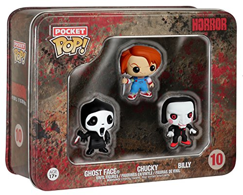 Preisvergleich Produktbild Funko - Pack 3 Figurines Horror Pocket Pop 4cm - 0849803048693