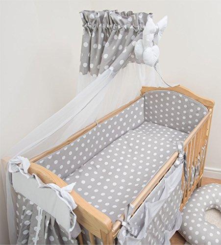 1816c06fdc1e9 10 pièces Parure de lit de lit pour bébé avec bumper polyvalent 420 cm (140