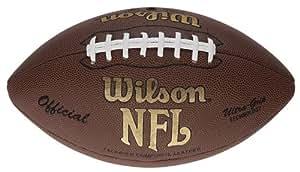 Wilson NFL Tackified Composite Ballon de football américain Rouge