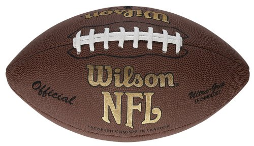 Wilson Football NFL Tackified Composite, rot