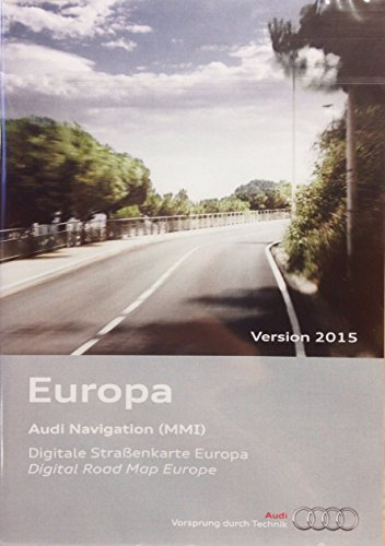 Audi Original Software Europa 2015 für MMI 2G High Navigationssystem