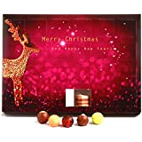 Hallingers Adventskalender Pralinenkalender Modern Advents-Karton, 1er Pack (1 x 300 g)