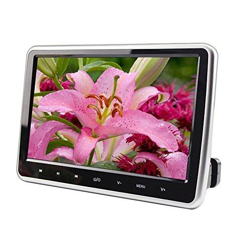 Ultra Dünn 25,4cm Digitale Monitor Kopfstütze Video Player Auto MP4breit View LCD-Bildschirm HDMI USB SD Eingebautes IR/FM/Lautsprecher mit Fernbedienung Controller