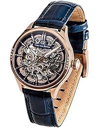 fb1d8286a4b Carl von Zeyten Reloj Esqueleto para Hombre de Automático con Correa en  Cuero CVZ0057RBL