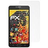atFolix Panzerfolie kompatibel mit Alcatel One Touch Pop 4S Schutzfolie, entspiegelnde & stoßdämpfende FX Folie (3X)