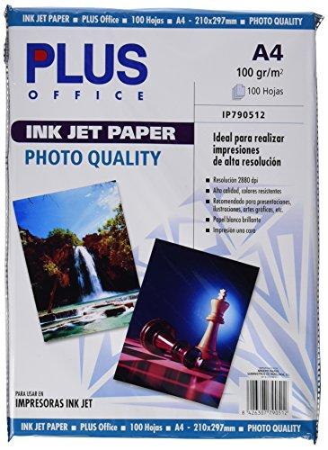plus-office-inkjet-paper-photo-quality-carta-fotografica-2880-dpi-confezione-da-100-fogli-formato-a4