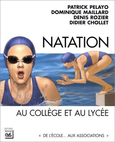 De la natation au collège et au lycée
