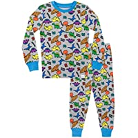 Harry Bear Boys Dinosaur Pyjamas Snuggle Fit