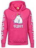 MINIONS Einhorn - It's So Fluffy Bubbles Girl-Kapuzenpulli pink M