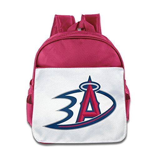 Linna Superb Anaheim Sports Logo Mixed Kinder Schule Rucksack o.ä für Jungen und Mädchen Royalblau, rose (rosa) - LINNA-CB-7736452-Pink-29
