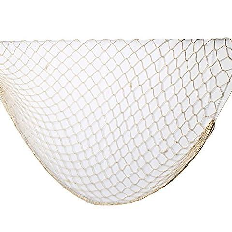 ofoen Deko Fischernetz, beige Angeln Netze Dekorative Hintergrund Wand-Bar für
