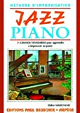 partition jazz piano methode d impro d marchand