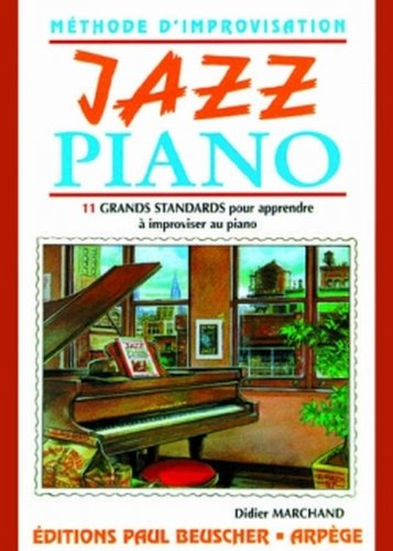 Partition : Jazz piano methode d'impro. D. Marchand