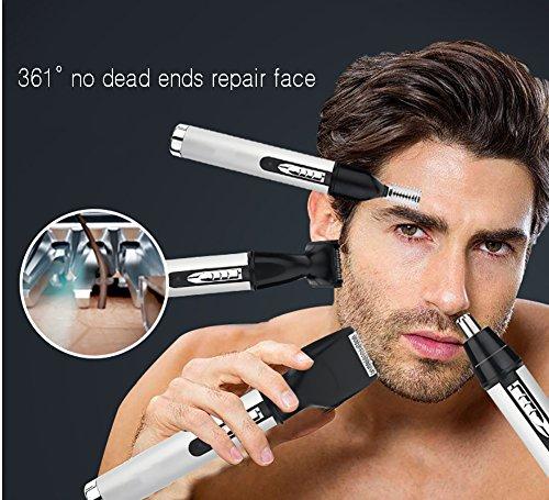 Elektrische Nase Trimmer Lade Nase Rasierer Augenbraue Anzug Vier-In-One