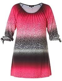 2e8163dc4a2ba3 ... Shirt Kurzarm Altrosa Weiß gestreift große Größen aus Viskose · EUR  49,95 · X-Two Yesta Tunika Damen A-Linie Lang 3/4 Arm Schwarz Pink
