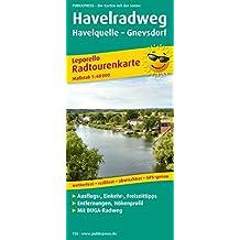 Havelradweg, Von der Quelle bis zur Mündung: Leporello Radtourenkarte mit Ausflugszielen, Einkehr- & Freizeittipps, wetterfest, reißfest, abwischbar, ... 1:60000 (Leporello Radtourenkarte / LEP-RK)
