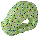 #8: BABY BUCKET MOTHER PILLOW FEEDING AND NURSING (Green Vehicles)