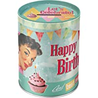 Nostalgic-Art 31006 Say it 50's - Happy Birthday Birds, Spardose preisvergleich bei kinderzimmerdekopreise.eu