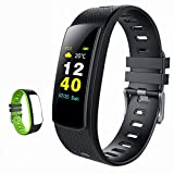iWOWNfit i6HRC Fitness Tracker Farbdisplay Fitness Armbanduhr Smart Band mit