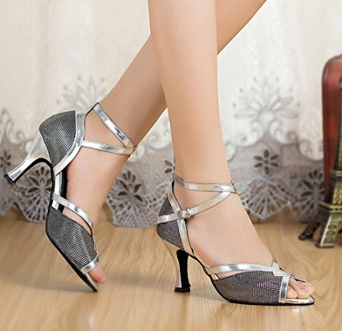 TDA - Strap alla caviglia donna 7.5cm Heel Black