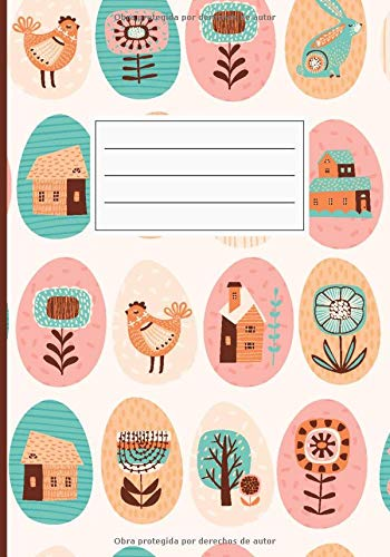 Cuaderno de Notas: Libreta de Apuntes, Anotador, Agenda, Diario Personal. Cubierta Diseño Granja Campo Pascuas