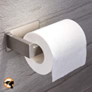 YIGII Toilet Paper Holder with Shelf - Bathroom Paper Tissue Holder with Mobile Phone Storage Shelf Stainless