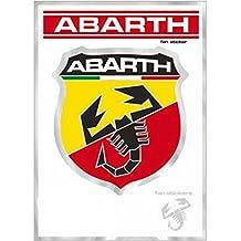 Abarth 21500 Pegatina Escudo Grande