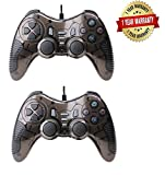 Best 2K Games PC Games - Tavakkal Pair of Dual Vibration USB Wired Controller Review