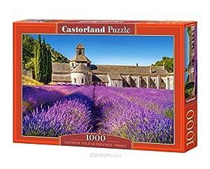 Castor País C de 104284-2Lavender Field in Provence, France, Puzzle de 1000Piezas