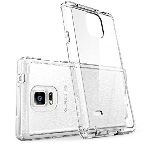 Samsung Galaxy Note 4 Hülle, i-Blason [Halo Serie] Case, klare kratzfeste Schutzhülle / Cover (Transparent) (Handy Cover Galaxy Note 4)