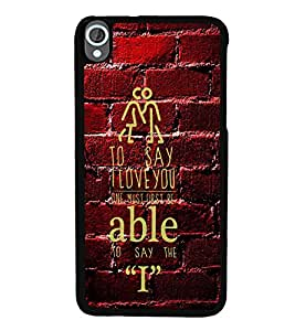 ifasho Designer Phone Back Case Cover HTC Desire 820 :: HTC Desire 820 Dual Sim :: HTC Desire 820S Dual Sim :: HTC Desire 820Q Dual Sim :: HTC Desire 820G+ Dual Sim ( Yeah Logo Pattern Quotes )