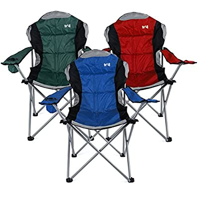 Kestrel Deluxe Padded Folding Chair - inexpensive UK light store.