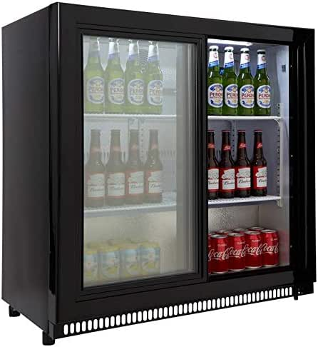 Single Door Back Bar Bottle Cooler Hinged Door Capital Primo 1