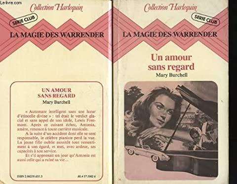 Un Amour sans regard (La Magie des Warrender)