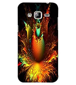 ColourCraft Abstract Design Back Case Cover for SAMSUNG GALAXY J3