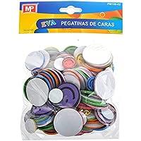 MP PM188-02 - Pegatinas adhesivas de goma Eva con formas