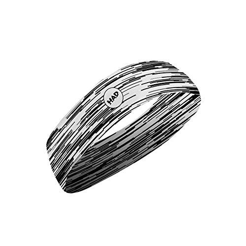 Preisvergleich Produktbild HAD COOLMAX SLIM schmales Stirnband Glitch,  LSF 40 +,  kühlend,  weiß,  Polyester,  one size