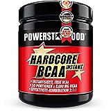 Perfekt auflösendes Hardcore BCAA Instant - Premium Pre- und In-Workout Pulver mit der absolut stärksten Hardcore Dosierung - antikatabol und ein Muß bei professionellem Muskelaufbau – Made in Germany