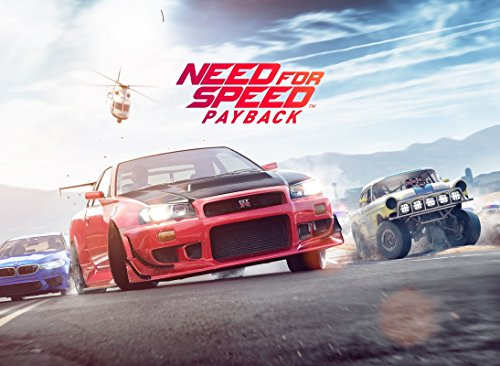 NEED FOR SPEED – PAYBACK - Imported Video Game Wall Poster Print - 30CM X 43CM Brand New Xbox PS4