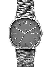 Skagen Herren-Armbanduhr Quarz One Size, grau, perlmutt