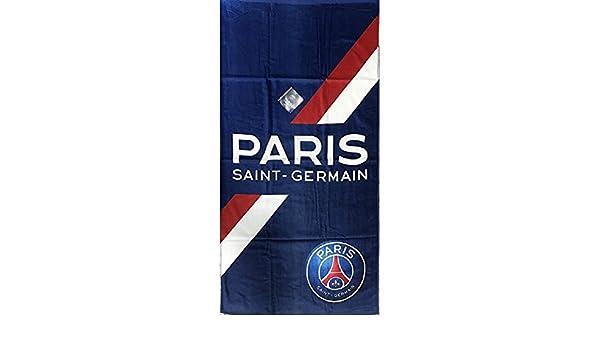 bb62cf9b877c9a ICI C EST PARIS PSG- Serviette - Drap de bain plage saint germain club  neymar cavani  Amazon.fr  Sports et Loisirs
