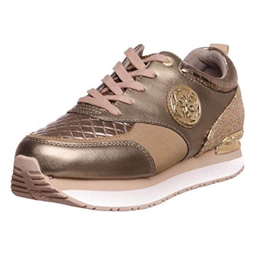Guess Damen Rimma Sneaker Gold