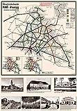 Deutsche Reichsbahn Übersichtskarte RBD Reichsbahndirektion Danzig 1944: Restaurierter Reprint der Originalkarte als Poster auf Kunstdruckpapier im ... (Sammler-Edition Historische Eisenbahnkarten)