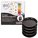 Best Cake Pans - Wham 51500 Rainbow Cake Tin Five Layer Baking Review